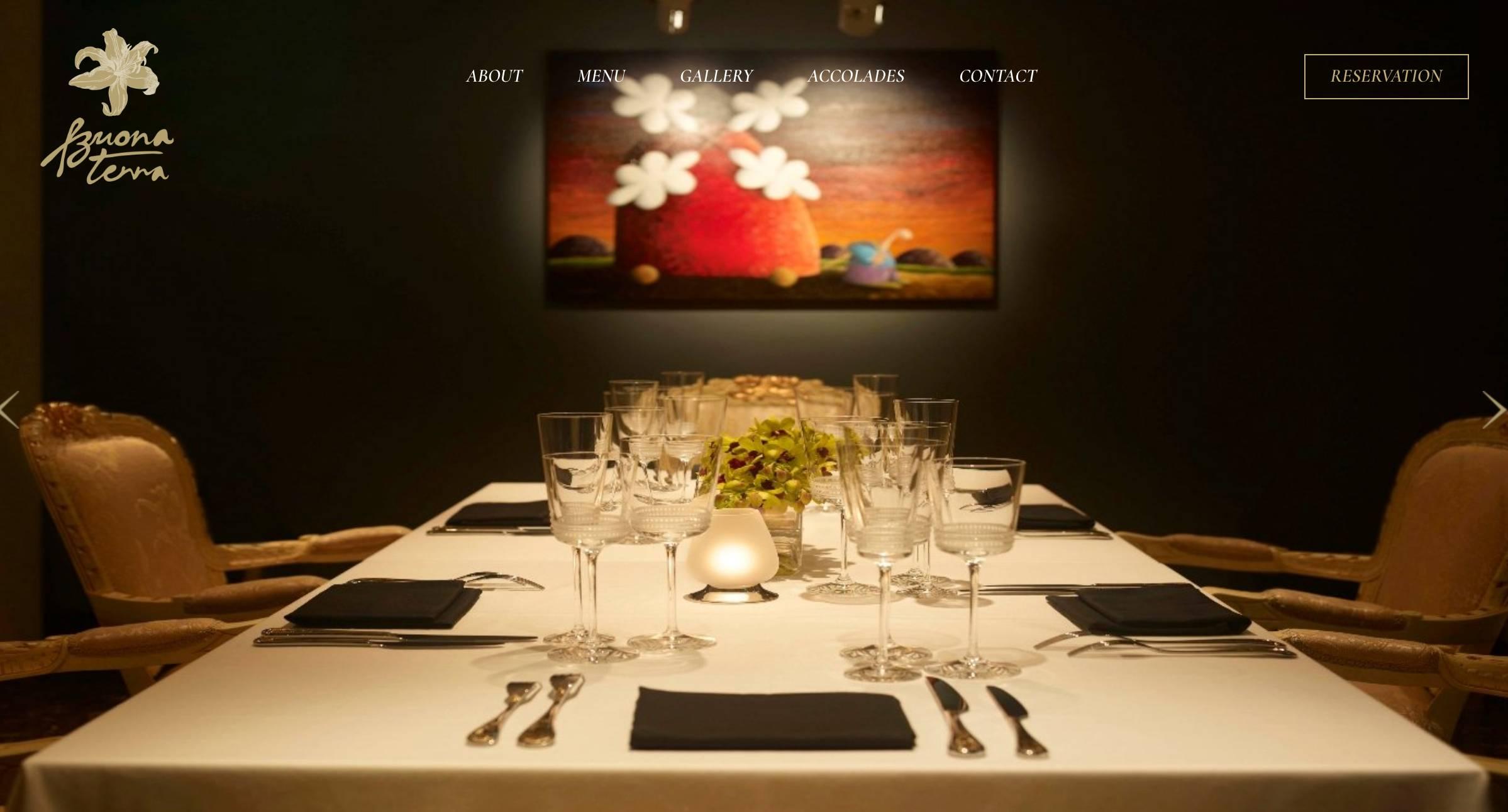 Top Italian Restaurant In Singapore - Buona Terra