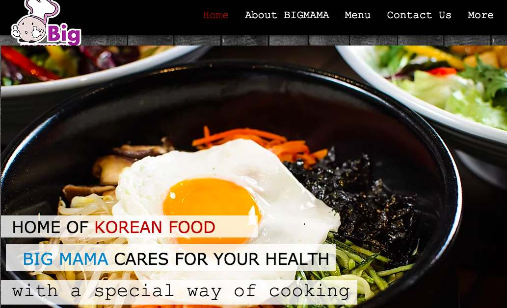 Best korean cuisine food restaurant - bigmama