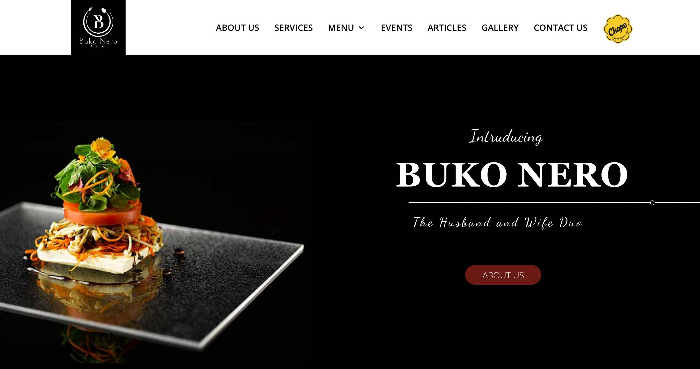 Italian Restaurant Singapore - Buko Nero