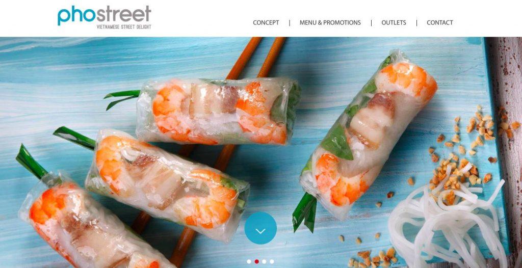 PhoStreet Vietnamese Restaurant In Singapore