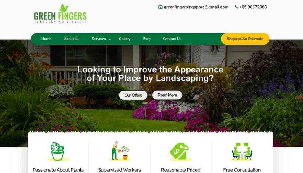 Green Fingers Landscaping