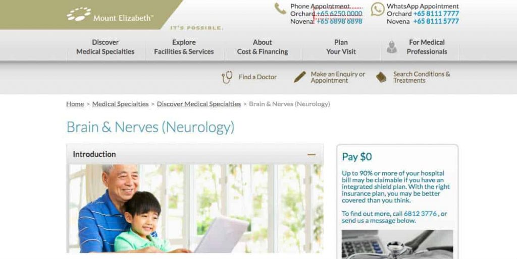 Mount Elizabeth Neurology