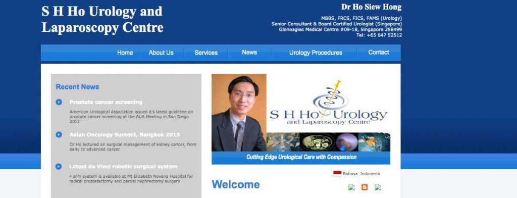 SH Ho Urology