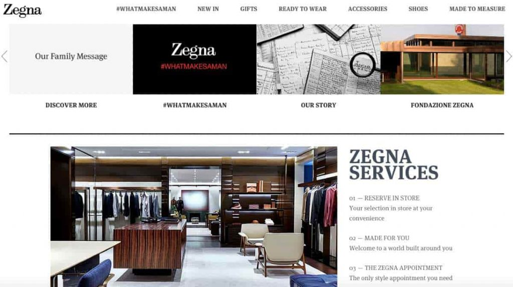 Zegna Men's Fashion