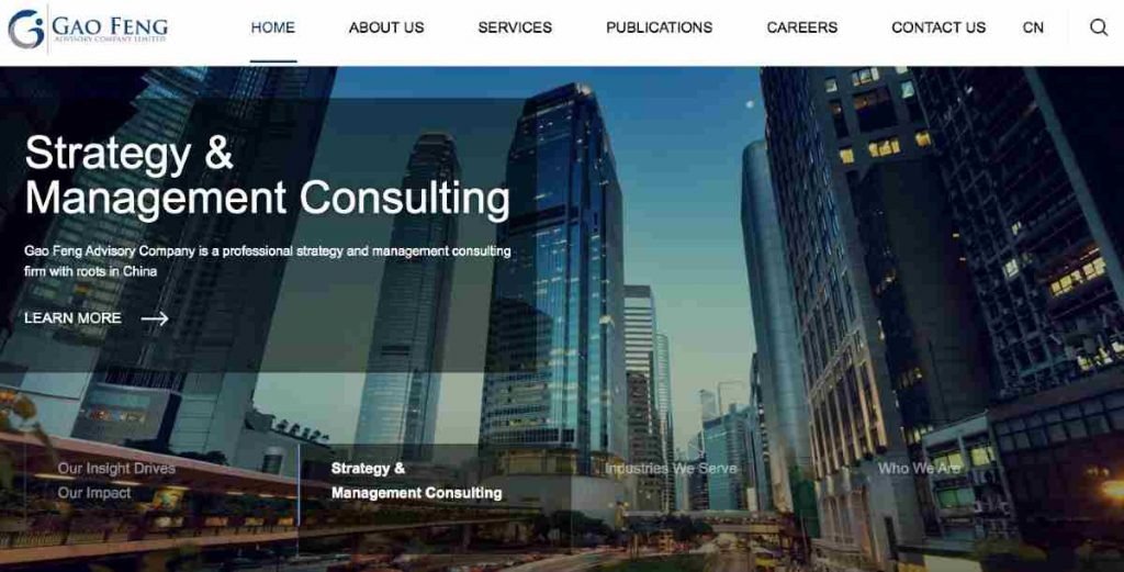 gaofeng strategy consulting