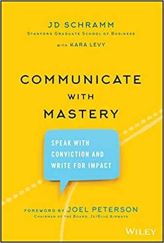Communicate with Mastery book