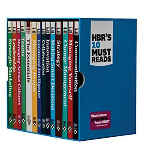 HBR 10 Must Reads book