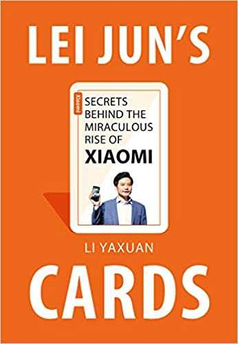 Lei Jun's Cards book