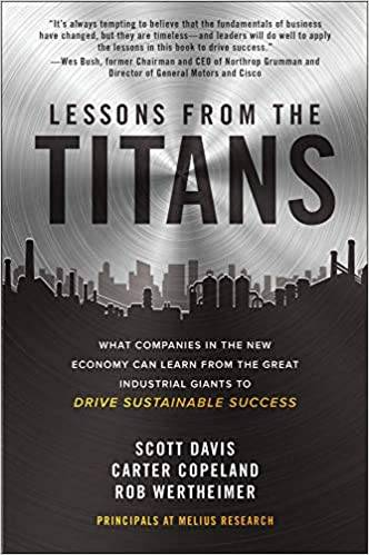 Lessons from the Titans book