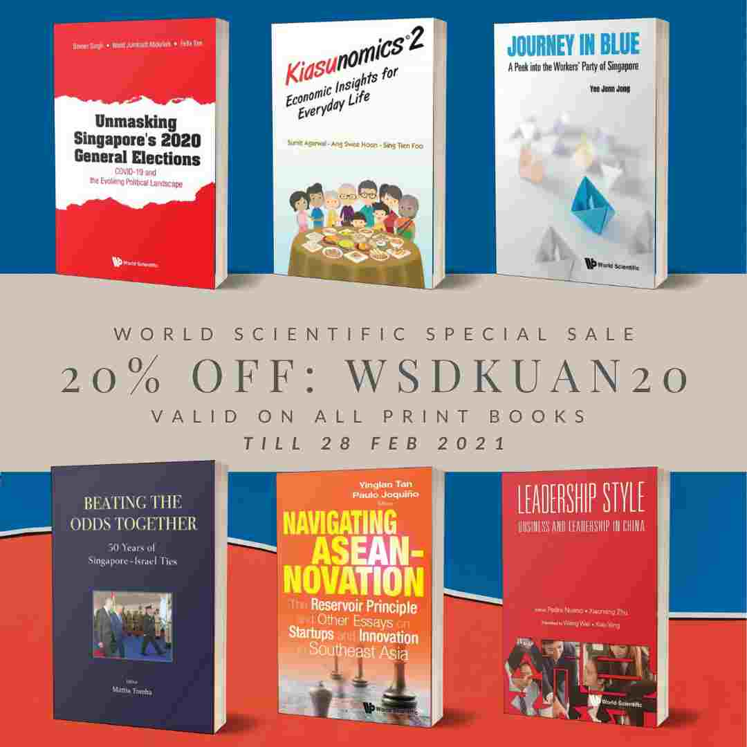 Book Sales – 20% off World Scientific Printed Books